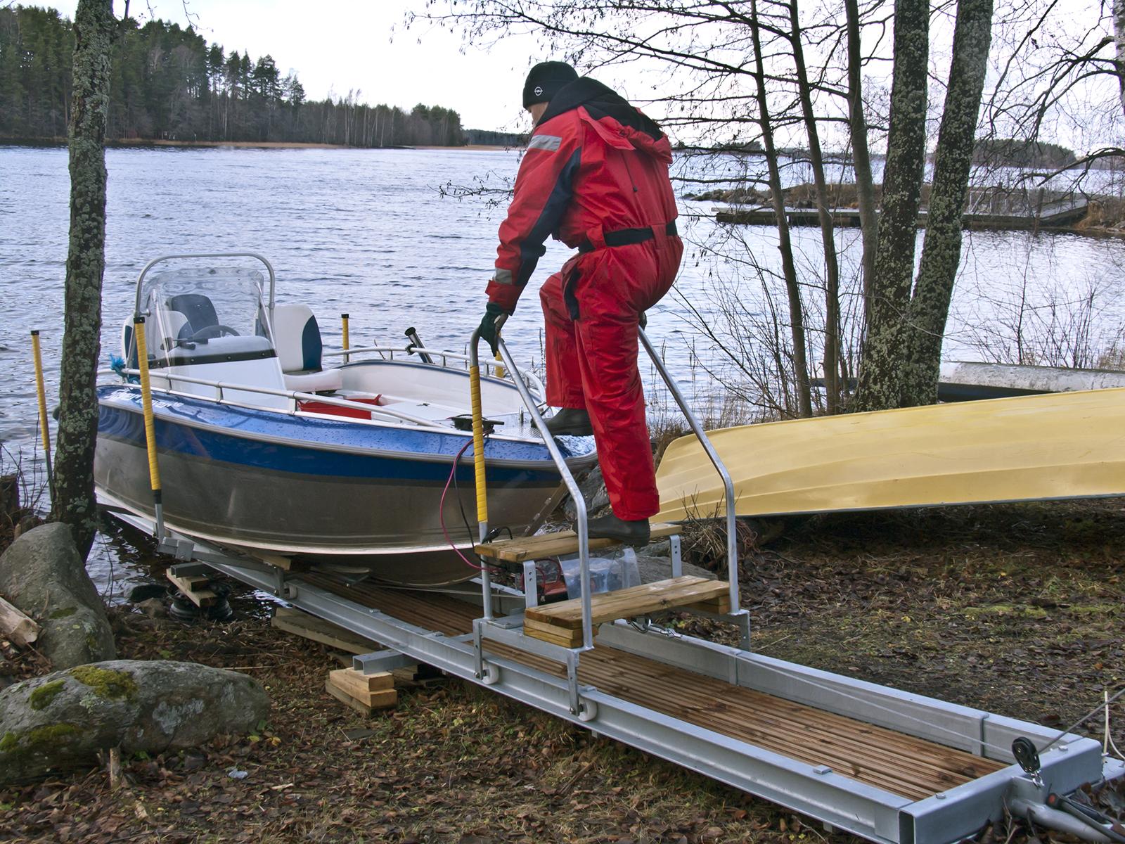 veneroller-telakkaan-portaita-pitkin