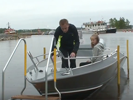 Using EasyBoatRoller with electric winch